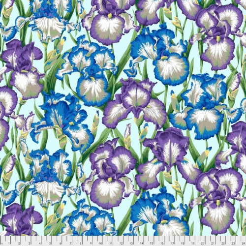 Kaffe Fassett Collective Bearded Iris Cotton Craft Quilting Clothes Fabric