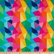 Riley Blake Create Main Multi Colour Cotton Craft Quilting Clothes Fabric