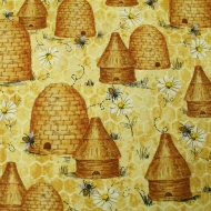 Bee & Beehive Hi Fashion 100% Cotton Craft Quitting Fabric