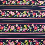 Vera Bradley Designs Floral 100% Cotton Quilting Bunting Clothes Fabric