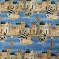 Harbor Days Collection By Blank Quilting 100% Cotton Quilting Bunting Fabric