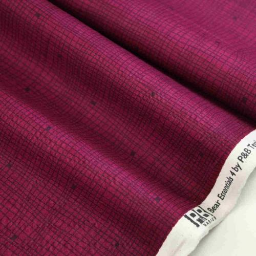Essentials Basic Shirts fabric P&B Textiles 100% Cotton Craft Quilting Fabric