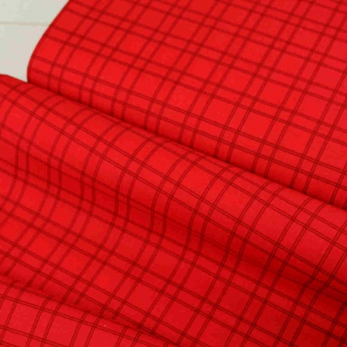 Red Check Fabric Collection By Riley Blake Cotton Craft Quilting Bunting Fabric