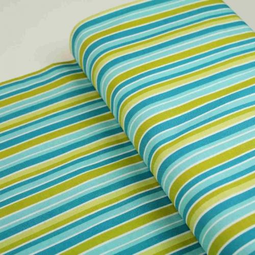 Riley Blake Peak Hour Stripe Cotton Craft Quilting Clothes Fabric