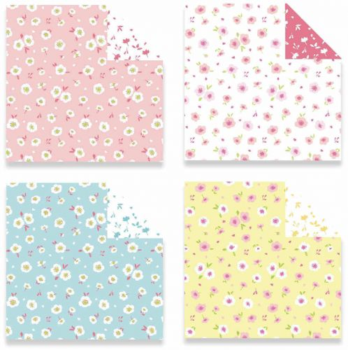 12 Free Printable Origami Papers! | Origami paper art, Japanese ... | 500x498