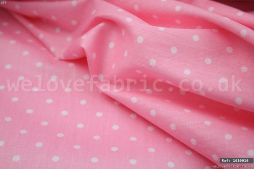 Tiny Polka Dots 100% Cotton Fabric (per meter)