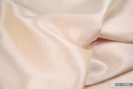 Plain Faux Silk Dupion 100% Polyester Cream (per meter)