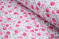 Rose Flowers 100% Cotton Fabric (per meter)
