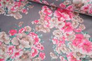 Vintage Floral 100% Cotton Fabric (per meter)