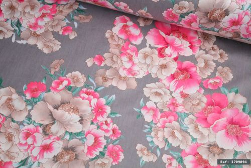 Vintage Floral 100% Cotton Fabric (per meter)