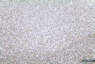4 Sheets Fine Glitter Fabric Material size 23 x 25cm Silver