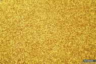 4 Sheets Fine Glitter Fabric Material size 23 x 25cm Gold