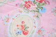 Classic Vintage Roses 100% Cotton Fabric (per meter)