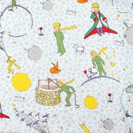 Star Boy Planets 100% Cotton Fabric Designer Fat Quarter