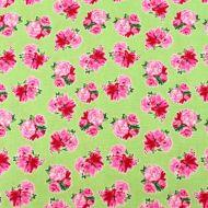 Henry Glass Green Designer 100% Cotton Fabric Fat Quarter
