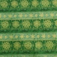 Riley Blake Christmas Green Stars 100% Cotton Fabric Fat Quarter