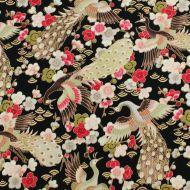 Ink & Arrow Birds of Paradise 100% Cotton Fabric Fat Quarter