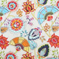 Ink & Arrow Floral 100% Cotton Fabric Fat Quarter