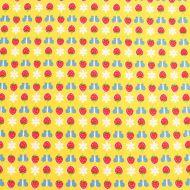 Penny Rose Fabrics Strawberries Butterflies 100% Cotton Fabric Fat Quarter