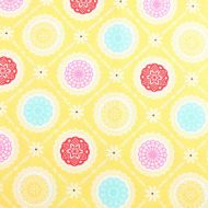 Penny Rose Fabrics Yellow 100% Cotton Fabric Fat Quarter