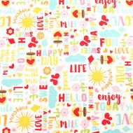 Riley Blake Designs Happy Day 100% Cotton Fabric