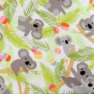 Kanvas Brand Koala Cotton Quilting Craft Fabric Fat Quarter