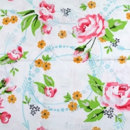 Blank Quilting Brand Floral Cotton Craft Fabric Fat Quarter