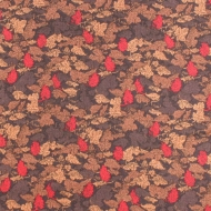 Henry Glass & Co Autumn Leaves Cotton Quilting Craft Fabric Fat Quarter