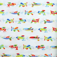 Henry Glass & Co Planes Airplanes Cotton Quilting Craft Fabric Fat Quarter