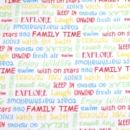 Henry Glass & Co Family Time Cotton Quilting Craft Fabric Fat Quarter