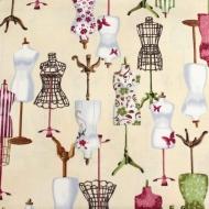 Vintage Couturier by Robert Kaufman Cotton Quilting Craft Fabric Fat Quarter
