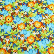 STUDIO E FABRICS Jungle Camp Cotton Quilting Craft Fabric Fat Quarter