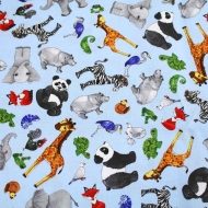 BLANK QUILTING Cotton Quilting Craft Fabric Fat Quarter