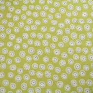Henry Glass Green Foliage Cotton Quilting Craft Fabric per FQ, half meter or meter