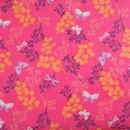 Butterfly by Camelot Cotton Quilting Craft Fabric per FQ, half meter or meter