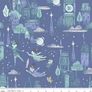 Riley Blake Peter Pan & Wendy Cotton Quilting Craft Fabric per FQ, half meter or meter