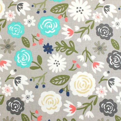 Riley Blake Cotton Quilting Craft Fabric per FQ, half meter or meter