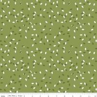 Riley Blake Designs Summer Blush Leaf Green Premium Quality Quilting Craft Dress-making 100% Cotton Fabric per meter, 110cm width