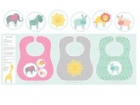 Benartex~ My Little Sunshine Baby Bib Panel 100% Cotton Craft Quilting Panel Fabric