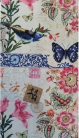 JOANN~Japaneses Design Birds Floral 100% Cotton Quilting Fabric