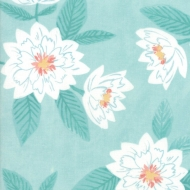 Moda ~Twilight by One Canoe Two - Floral - Mist 100% Cotton Craft Quilting Fabric