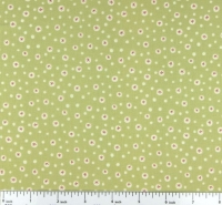 Henry Glass~ Home for Christmas Green Snowflake 100% Cotton Quilting Fabric