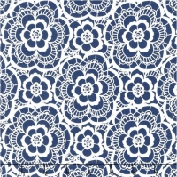 Riley Blake~ Blue Carolina Lace Navy 100% Cotton Quilting Fabric