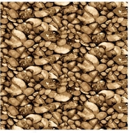 Blank Quilting~ COVERED BRIDGES Brown 100% Cotton Craft Quilting Fabric