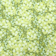 Wilmington~Floral Serenade Packed Hydrangea Green 100% Cotton Craft Quilting Fabric