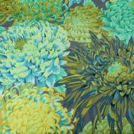 Kaffe Fassett Collective Japanese Chrysanthemum Forest Cotton Craft Fabric