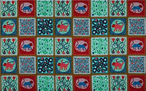 FreeSpirit Endless Summer Captive Lichen Cotton Clothing Quilting Fabric
