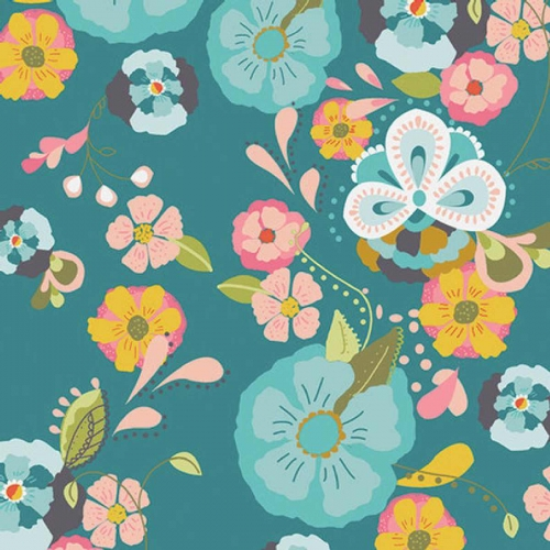 Art Gallery Feel The Difference Floral Dress Cotton Quilting Fabric