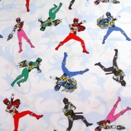 Super Hero Children Print Cotton Quilting Clothing Fabric