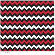 Small School Colors Chevron By Riley Blake Quilting Clothing Craft Fabric